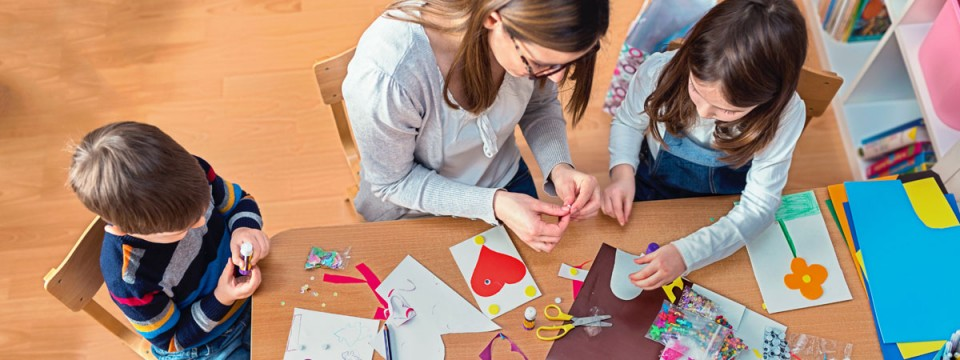 Family learning activities encourage interaction across all members